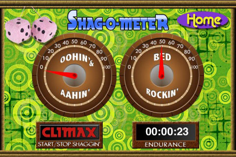Screenshot Shag-o-meter