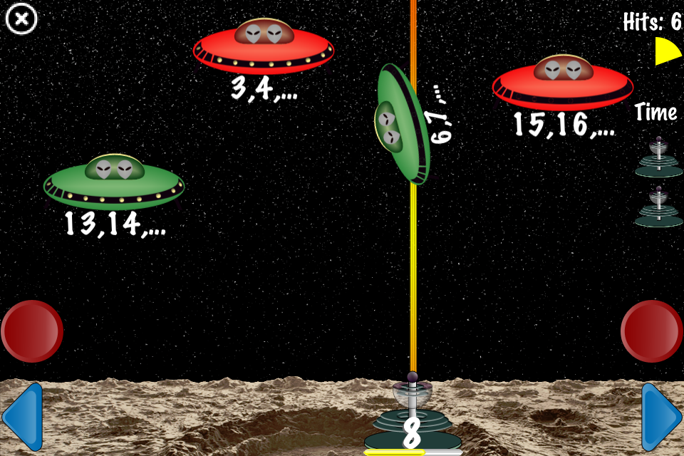 Screenshot Arithmetic Invaders: Express