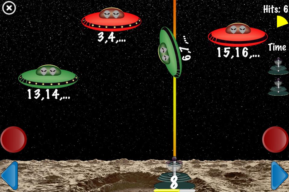 Screenshot Arithmetic Invaders: Express